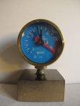 ''Pressuremeter – Deadline'', ready made, kombinirana tehnika, 11 x 7.5 x 7 cm, 2017.