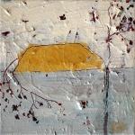 Silvia Golja, ''By the lake'', akril na platnu, 20x20 cm