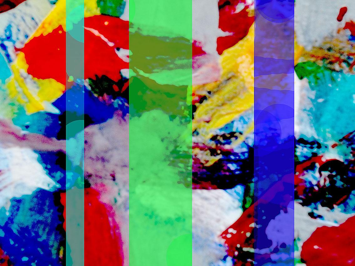 ''Sinteza ritmičkih polja'', digitalna grafika, 21x30 cm