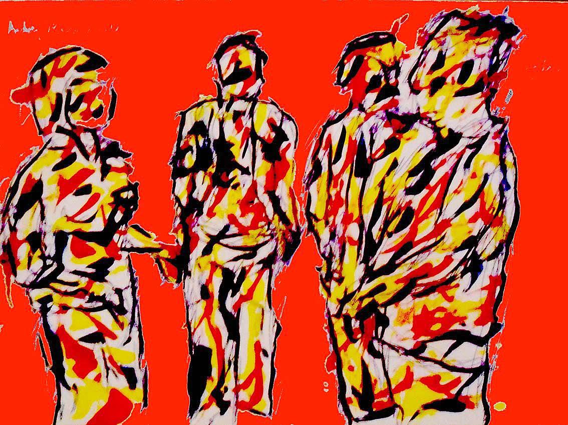 Andrej Zbašnik, ''Svjedoci'', digitalna grafika, A4