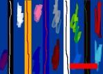 Andrej Zbašnik, ''Sinteza ritmičkih polja 1'', digitalno slikarstvo, 21x30 cm