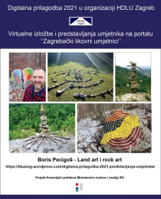 Boris Pecigoš - Land art i rock art