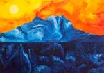 Luka Koščak, ''Horizonti (6)'', ulje na platnu, 70x100 cm