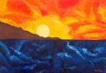 Luka Koščak, ''Horizonti (7)'', ulje na platnu, 70x100 cm