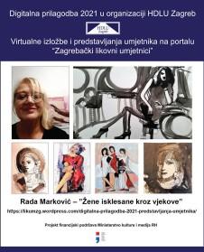 """Rada Marković – """"Žene isklesane kroz vjekove"""""""