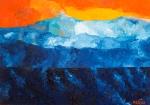 Luka Koščak, ''Horizonti (11)'', ulje na platnu, 50x70 cm