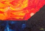 Luka Koščak, ''Horizonti (13)'', ulje na platnu, 50x70 cm