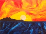 Luka Koščak, ''Horizonti (14)'', ulje na platnu, 50x70 cm