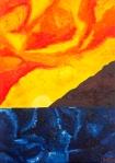 Luka Koščak, ''Horizonti (15)'', ulje na platnu, 70x100 cm