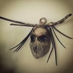 Marina Lapadatović, ''Maska šaman'', kombinirana tehnika, 40x20 cm