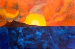 Luka Koščak, ''Horizonti (19)'', ulje na platnu, 80xx120 cm