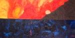 Luka Koščak, ''Horizonti (11)'', ulje na platnu, 80x120 cm