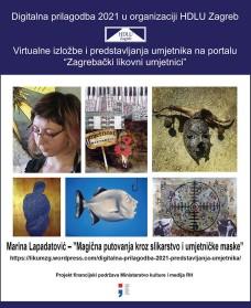 Marina Lapadatović – ''Magična putovanja kroz slikarstvo i umjetničkemaske''