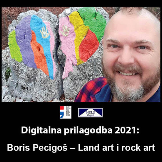1. Digitalna prilagodba 2021: Boris Pecigoš – Land art i rock art, 11. 1. 2021. 1. Boris Pecigoš, 11. 1. 2021.