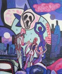 ''Velika preobrazba 2'', akril na platnu, 60x50 cm, 2001.