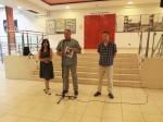 ''4. Zagrebački ljetni likovni salon 2020 - Urbani zapisi''. Galerija Kontrast, 2020., Krešimira Gojanović, Željko Šturlić, Svebor Vidmar
