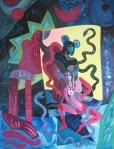 ''Persephone'', akril na platnu, 80x60 cm, 1999.