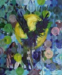 Antonija Cesarec, ''Slutnja'', akril na platnu, 60x50 cm