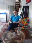 Luka Koščak, iz ateljea