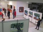 Otvorenje izložbe Jelene Martinović u galeriji Kontrast, 2020.