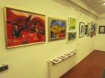 Sa izložbe ''Kroz sliku i riječ'', galerija Sunce, Uriho, 2018.