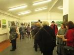 Sa otvorenja izložbe ''Kroz sliku i riječ'', galerija Sunce, Uriho, 2018.