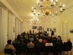 Sa otvorenja izložbe ''Mare adriatico'', Europski dom Zagreb, 2017.