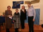 Sa otvorenja izložbe ''Susret generacija'', Europski dom Zagreb, 2018.