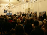 Sa otvorenja izložbe ''Susret generacija'' u Europskom domu Zagreb, 2018.