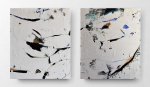 Silvia Golja, ''Essence'', diptih, kombinirana tehnika na platnu, 60x50 cm pojedino platno