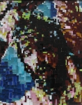 Vanda Jurković, ''Mikromozaik'', stakleni mozaik, 36x30 cm