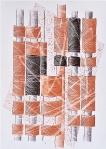 "Alenka Tominac, ""(Po)složeni identiteti"", olovka u boji na papiru, 42x30 cm"