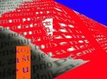 Andrej Zbašnik, ''Redefinicija dekonstrukcije prostora politike 5'', digitalna grafika, A4