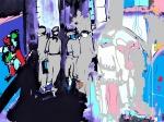 Rada Marković, ''Iz tame u svjetlost'', digital art