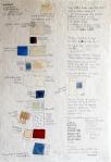 Darija Dolanski Majdak, ''Boje'', crtež na rižinom papiru, 75x50 cm