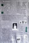 Darija Dolanski Majdak, ''Plan sela Omarakana'', crtež na rižinom papiru, 75x50 cm
