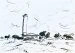 Jelena Martinović, ''Avantura zvana ljeto 1'', crtež markerom na papiru, A4