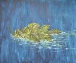 Jasenka Smrekar, ''Sam'', akril na platnu, 49x59 cm