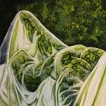 Tea Bošnjaković, ''Green Lady'', ulje na platnu, 100x100 cm